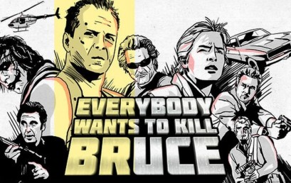 """Everybody wants to kill Bruce"", dos cortos de cine."
