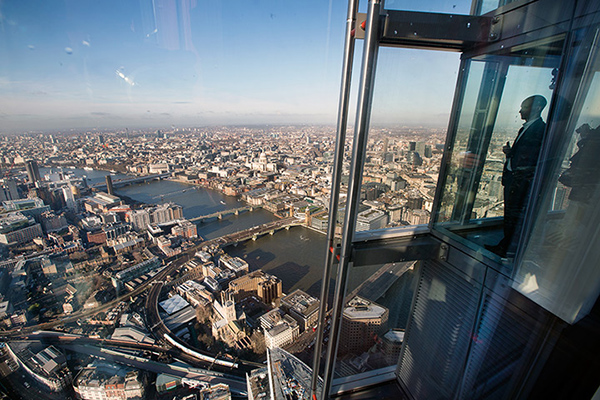 The View from The Shard is now completed